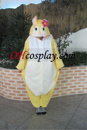 Går glipp av Bunny kostyme Kigurumi pyjamas