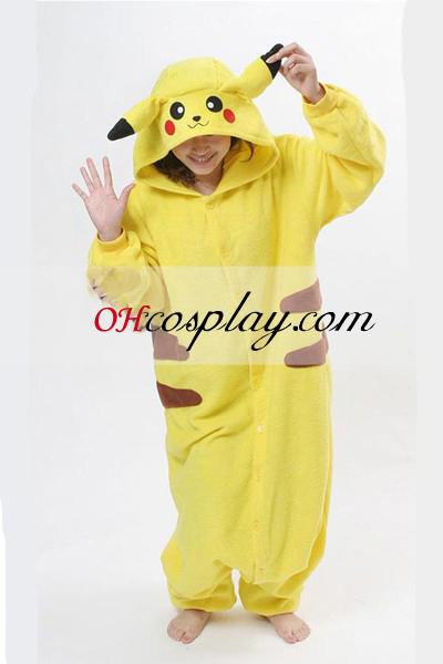Pikachu Kigurumi Halloween kostyme pyjamas