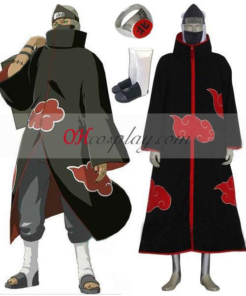 Naruto Akatsuki Kakuzu Deluxe Cosplay Traje Set