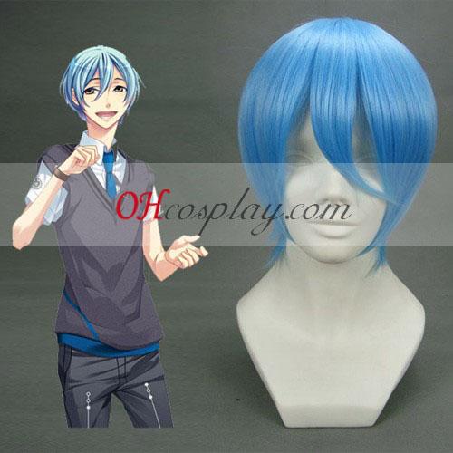 EVA-REI Ayanami luz azul cosplay peluca