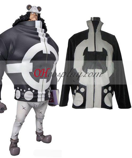Yksiosainen Bartholemew·Kuma (despootti) Cosplay Costume-Size suuri