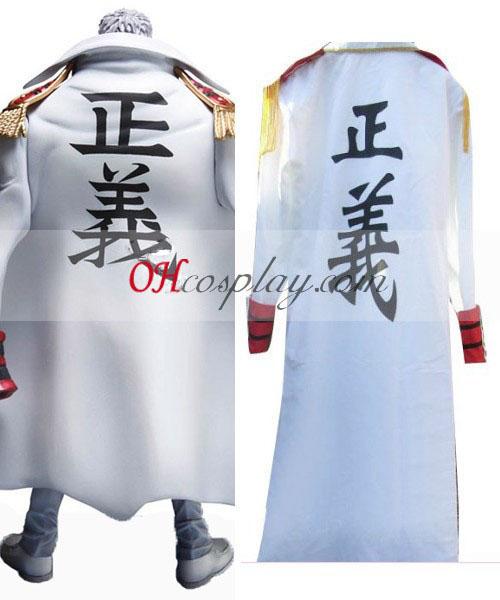一つモンキー.d:((中将)海軍マント衣装コスプレ