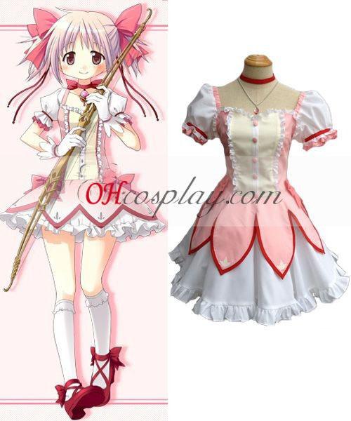 Puella Magi Madoka Magica Kaname Madoka Cosplay Costume