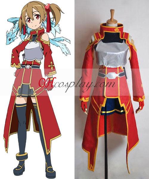 Sword Art Online Silica (Keiko Ayano) Cosplay Costume