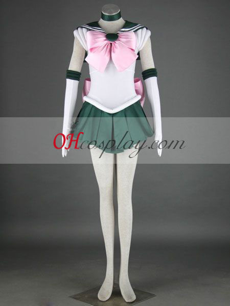 Sailor Moon Makoto Kino (Sailor Jupiter) Cosplay Costume
