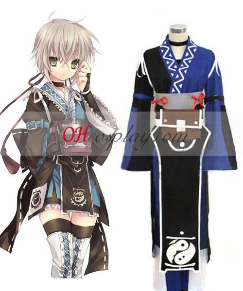 Touhou Prosjekt Morichika Rinnosuke cosplay kostyme
