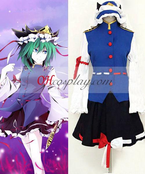 Touhou Prosjekt Shikieiki Yamaxanadu cosplay kostyme