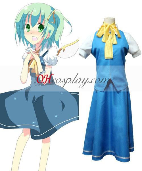 Touhou projekt Daiyousei cosplay kroj