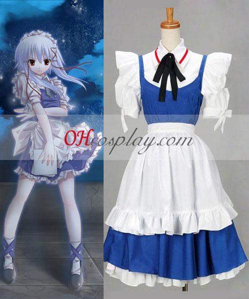 Touhou Project Izayoi Sakuy cosplay costume