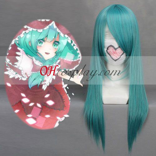 Touhou Project Kagiyama Hina Cian cosplay peluca