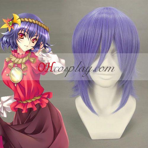 Touhou Project Kanako Yasaka purpúreo claro peluca Cosplay