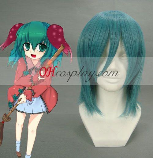Touhou Project Kasodani Kyouko Cyan Cosplay Wig