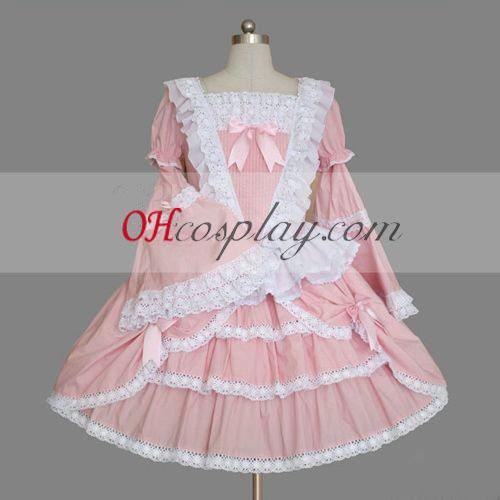 Pink Gothic Lolita vestido