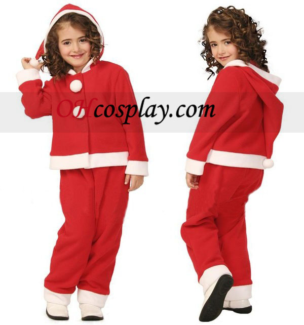 Barn Jul klær Cosplay kostyme