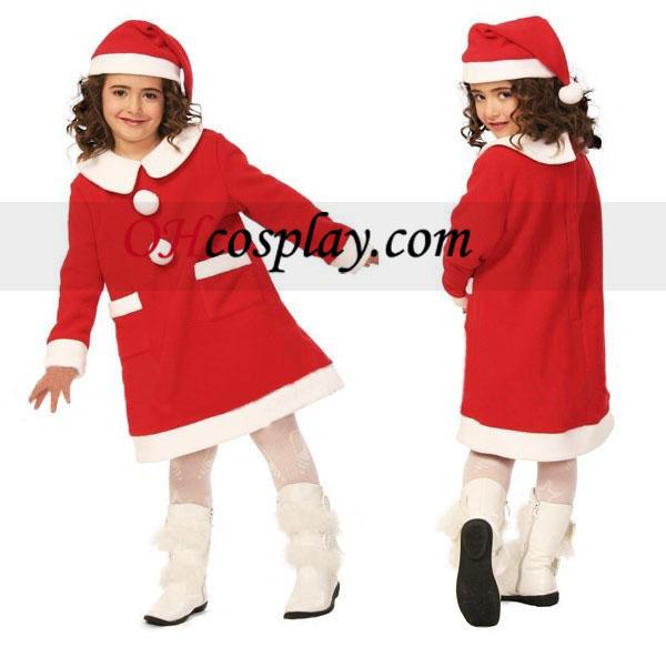 Navidad Ni?os cosplay vestido