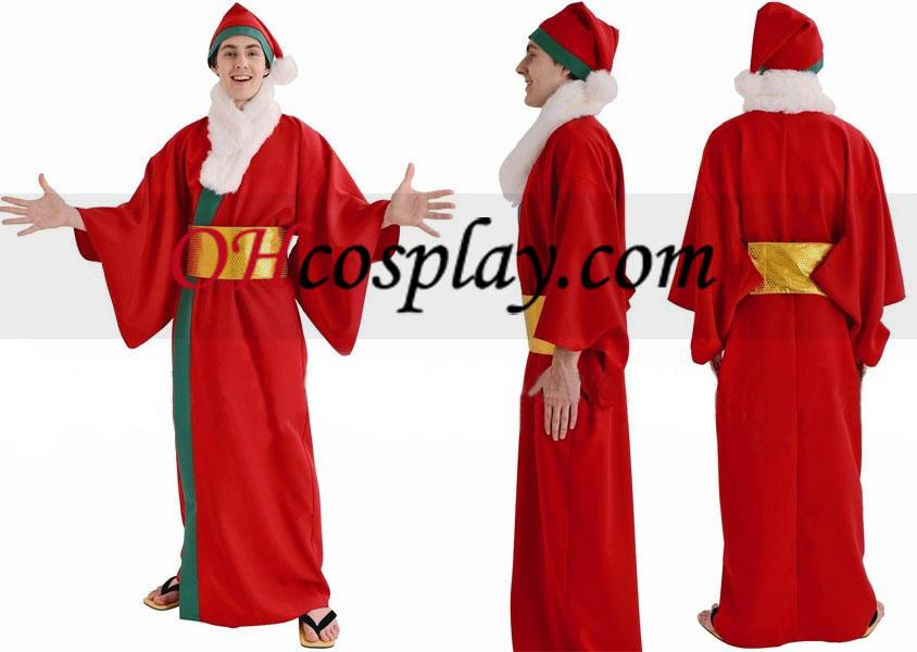 Santa Claus magiske Jul Cospaly kostyme