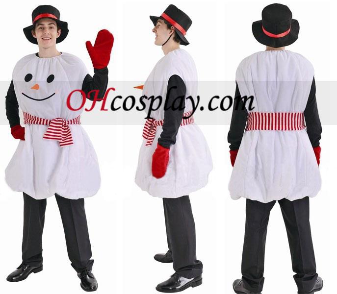 Jul snømannen Cosplay kostyme