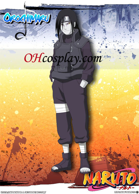 Orochimaru Cospaly Costume From Natuto Cosplay Halloween Costume