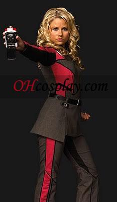 Rød Uniform Cosplay kostyme