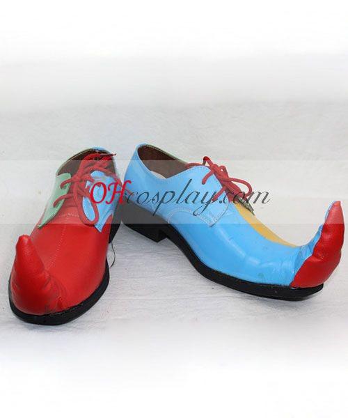 Klaun cosplay obuv