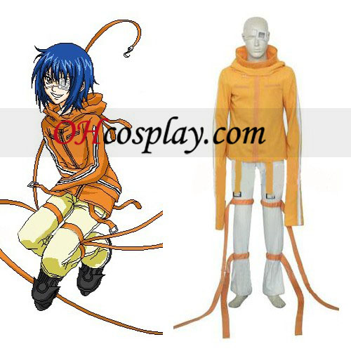 Air Gear Akito/Agito Wanijima Cosplay Costume