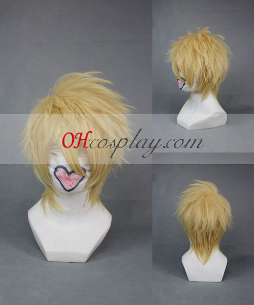 Amnesia Toma Yellow Cosplay Wig