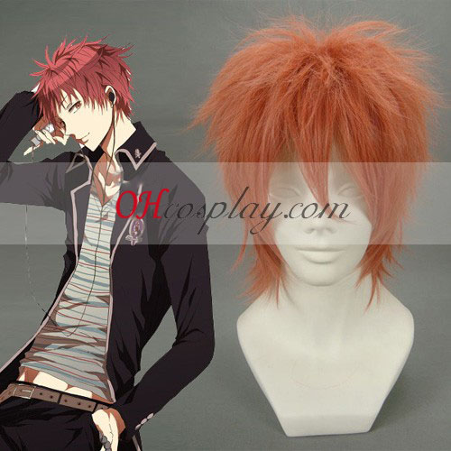 Ao no Exorcist Shima renzou Orange Cosplay Wig