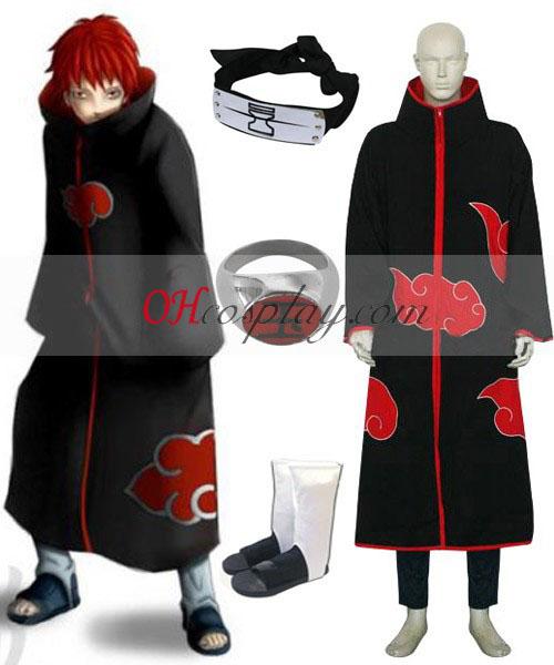 Naruto Akatsuki Sasori Deluxe Cosplay kostyme sett