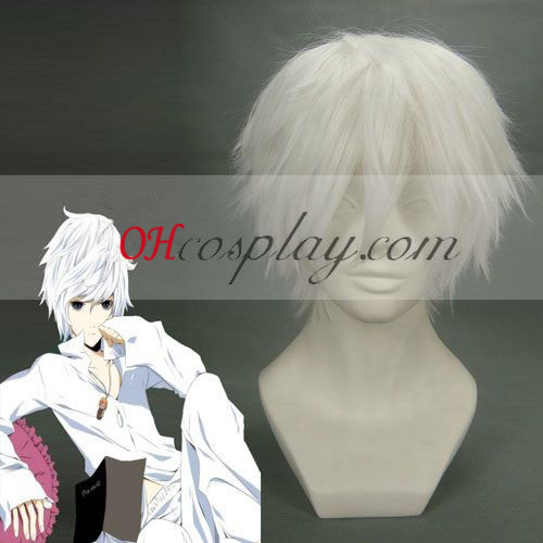 Muerte Noto casi blanco de la peluca de Cosplay