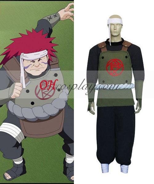 Naruto Shippuuden Chouza Akimichi cosplay kostyme