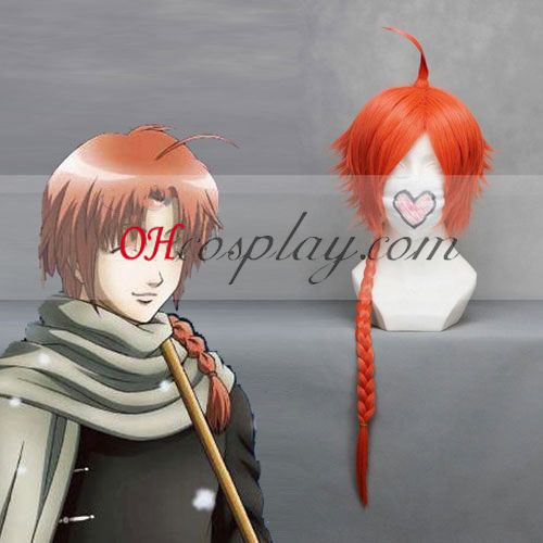 Gintama Kamui Red Cosplay Wig