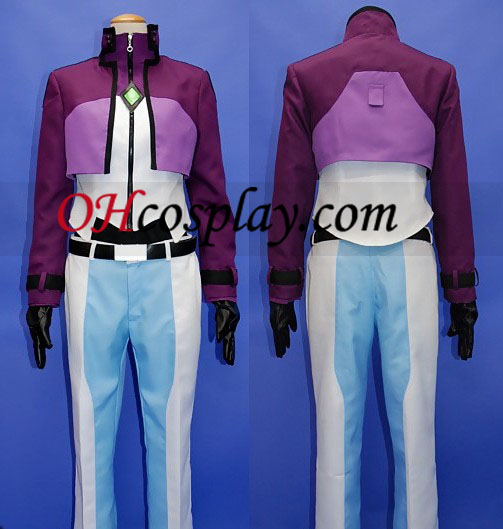 Tieria Erde Costume from Gundam Cosplay Halloween Costume Buy Online