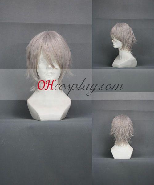 Inu x Boku SS Miketsukami Soushi peluca blanca cosplay