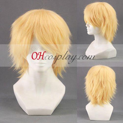 Inu x Boku SS Watanuki Banri amarillo cosplay peluca