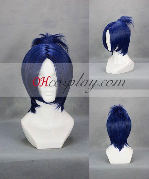 Hitman Reborn! Rokudo Mukuro Blue Cosplay Wig