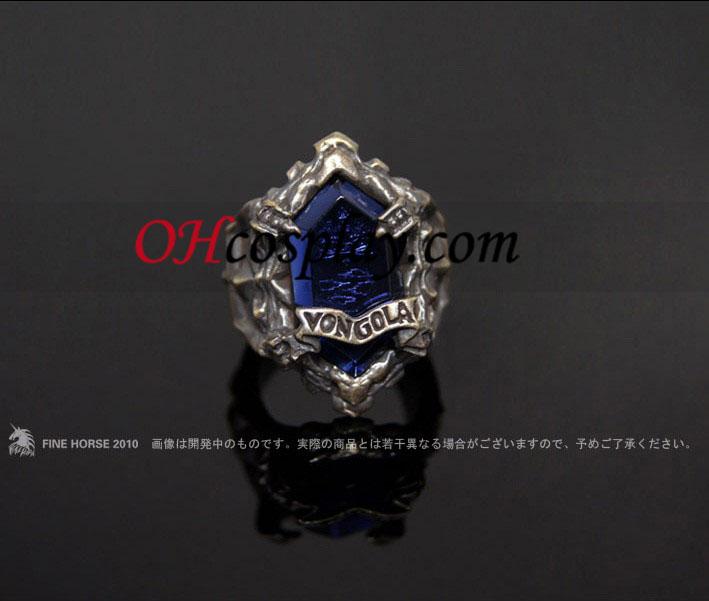 Katekyo Hitman Reborn Rokudo Mukuro Cosplay Vongola Fog Ring - Premium Edition