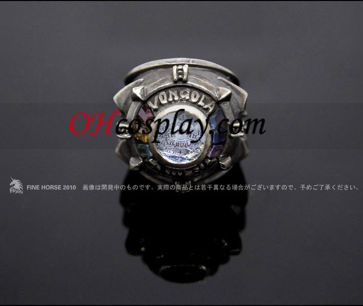 Katekyo Hitman Reborn Vongola Sawada Tsunayoshi Cosplay iso rengas - Premium Edition