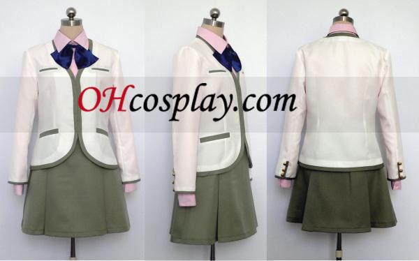 Shoko Fuyumi Cosplay Uniforme de Kin iro no Corda