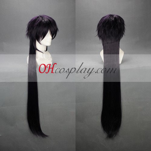 MAGI Sinbad Dark Purple Cosplay Wig