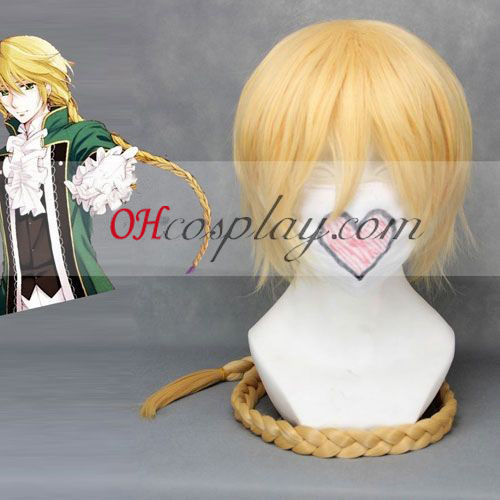 Pandora Hearts Jack Vessarius Yellow Cosplay Wig