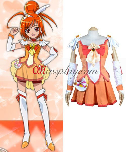 Pretty Cure Smile PreCure Hino Akane(Cure Sunny) Cosplay Costume