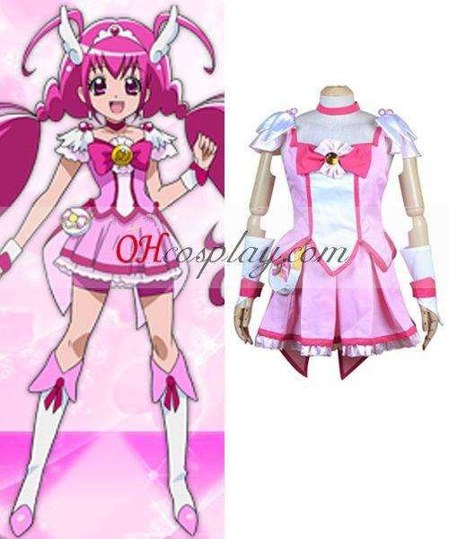 Pretty Cure Smile PreCure Hoshizora Miyuki (Cure Happy) Cosplay Costume