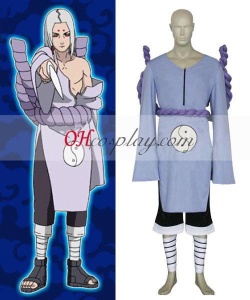 Naruto Kimimaro Kaguya Cosplay kostyme