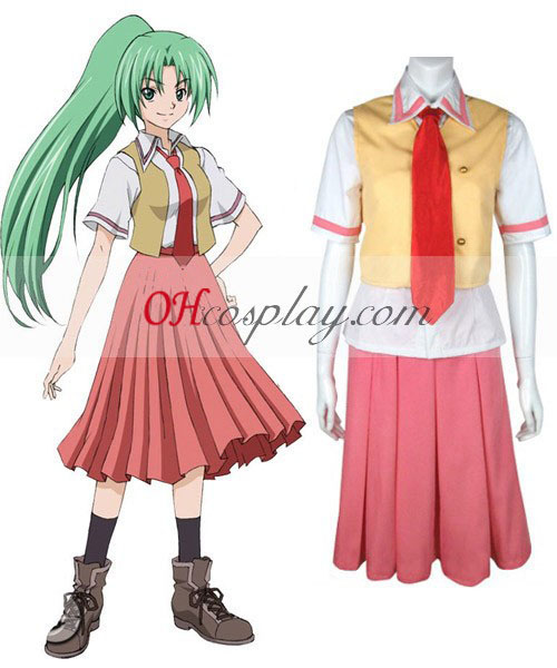 When They Cry Mion Sonozaki Cosplay Costume