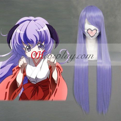 When They Cry Hanyuu Furude Light Purple Cosplay
