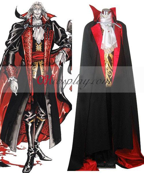 Castlevania Vampire Dracula Traje Cosplay