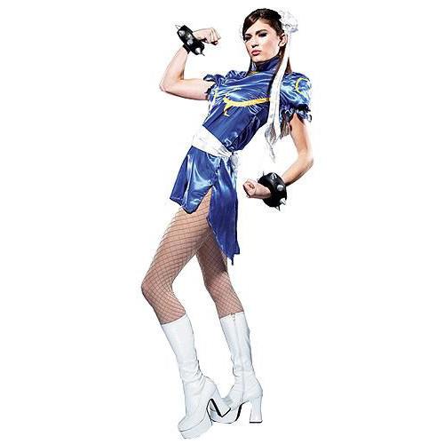Street Fighter Chun li kostýma dospelých