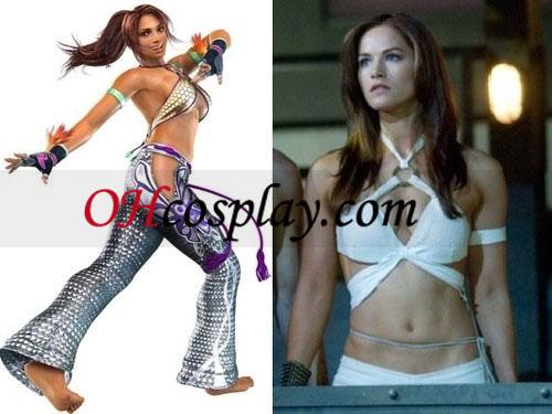 Tekken Moive Kelly Overton som Christie Monteiro Cosplay kostyme