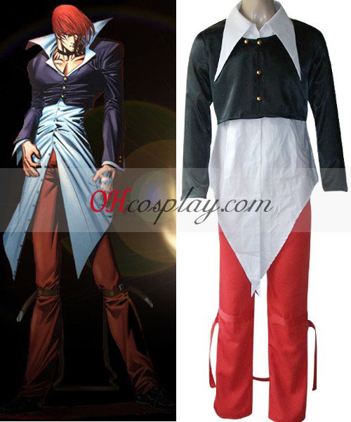 El Rey de Iori Yagami traje de cosplay Fighters '