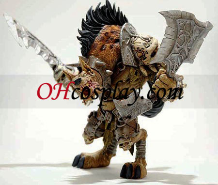 World of Warcraft Premium Series 1 Action Figure Gnoll Warlord Gangris Riverpaw